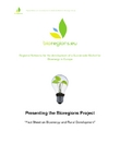 "Presenting the Bioregions Project ""Fact Sheet on Bioenergy and Rural Development"""