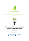 Recommendations for development of regional bioenergy networks